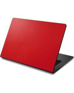 Red Carbon Fiber Dell Chromebook Skin