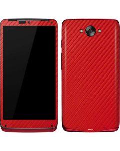 Red Carbon Fiber Motorola Droid Skin