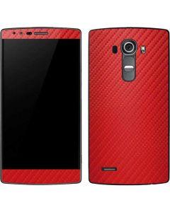 Red Carbon Fiber G4 Skin