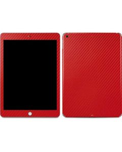 Red Carbon Fiber Apple iPad Skin