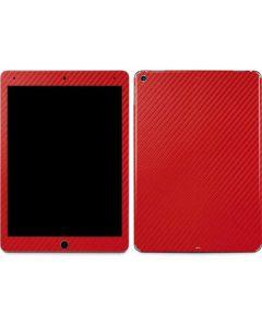 Red Carbon Fiber Apple iPad Air Skin