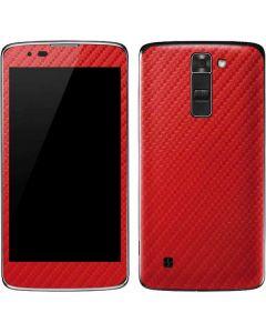 Red Carbon Fiber K7/Tribute 5 Skin