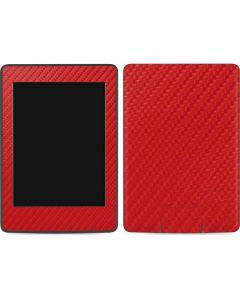 Red Carbon Fiber Amazon Kindle Skin