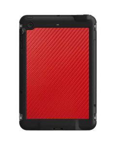 Red Carbon Fiber LifeProof Fre iPad Mini 3/2/1 Skin