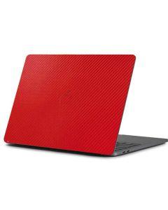 Red Carbon Fiber Apple MacBook Pro 13-inch Skin