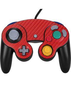 Red Carbon Fiber Nintendo GameCube Controller Skin