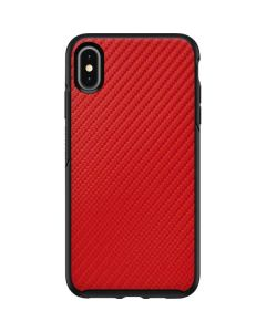 Red Carbon Fiber Otterbox Symmetry iPhone Skin