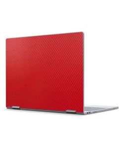 Red Carbon Fiber Pixelbook Skin