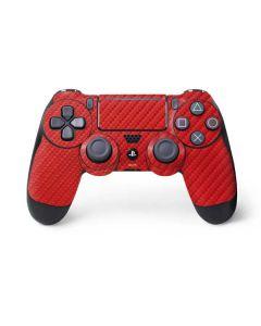 Red Carbon Fiber PS4 Pro/Slim Controller Skin