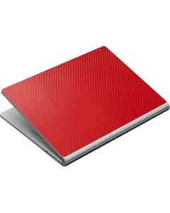 Red Carbon Fiber Surface Book Skin