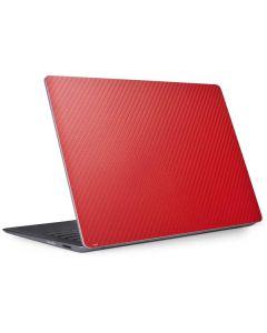 Red Carbon Fiber Surface Laptop 2 Skin
