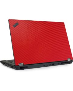 Red Carbon Fiber Lenovo ThinkPad Skin