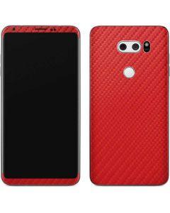 Red Carbon Fiber V30 Skin