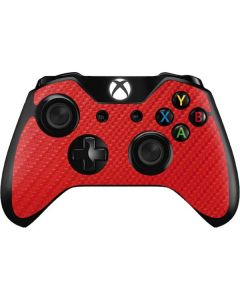 Red Carbon Fiber Xbox One Controller Skin