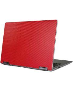 Red Carbon Fiber Yoga 710 14in Skin