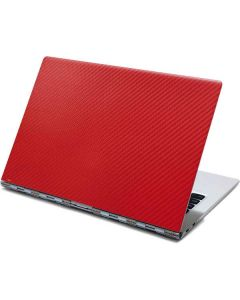 Red Carbon Fiber Yoga 910 2-in-1 14in Touch-Screen Skin