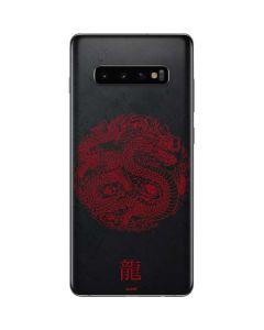 Red Dragon Galaxy S10 Plus Skin