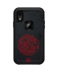 Red Dragon Otterbox Defender iPhone Skin