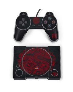 Red Dragon PlayStation Classic Bundle Skin