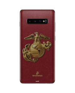 Red Faded Eagle Galaxy S10 Plus Skin