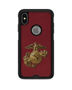 Red Faded Eagle Otterbox Commuter iPhone Skin