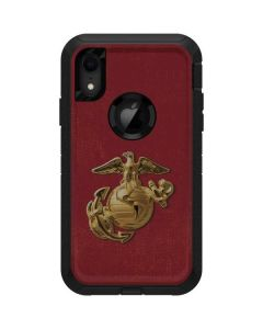 Red Faded Eagle Otterbox Defender iPhone Skin