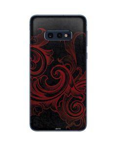 Red Flourish Galaxy S10e Skin