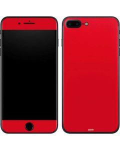 Red iPhone 7 Plus Skin