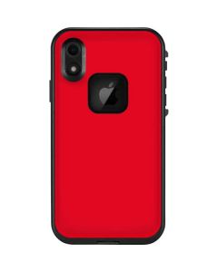 Red LifeProof Fre iPhone Skin