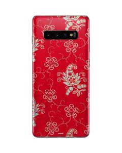 Red Munisak by Russian School Galaxy S10 Plus Skin