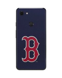 Red Sox Embroidery Google Pixel 3 XL Skin