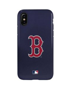 Red Sox Embroidery iPhone X Pro Case