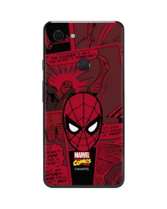 Red Spider-Man Comics Google Pixel 3 XL Skin