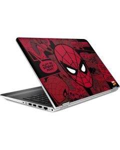 Red Spider-Man Comics HP Pavilion Skin