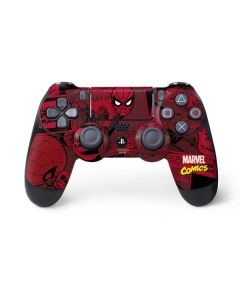 Red Spider-Man Comics PS4 Controller Skin