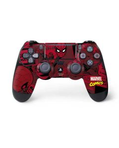 Red Spider-Man Comics PS4 Pro/Slim Controller Skin