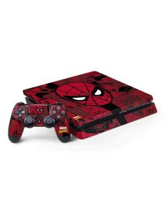 Red Spider-Man Comics PS4 Slim Bundle Skin