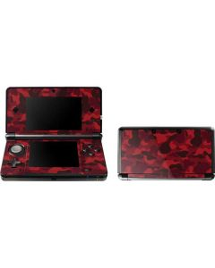 Red Street Camo 3DS (2011) Skin