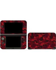 Red Street Camo 3DS XL 2015 Skin