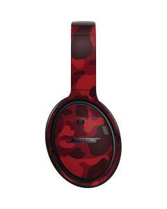 Red Street Camo Bose QuietComfort 35 Headphones Skin