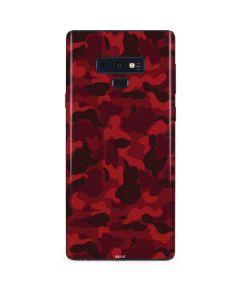 Red Street Camo Galaxy Note 9 Skin