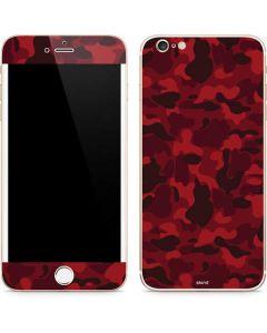 Red Street Camo iPhone 6/6s Plus Skin