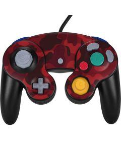 Red Street Camo Nintendo GameCube Controller Skin