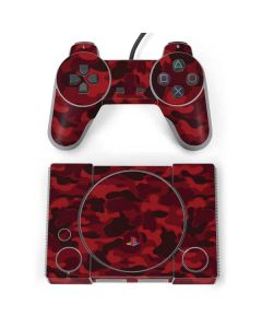 Red Street Camo PlayStation Classic Bundle Skin