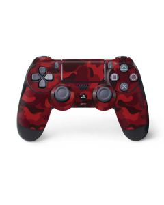 Red Street Camo PS4 Controller Skin