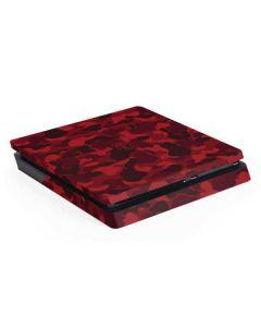 Red Street Camo PS4 Slim Skin