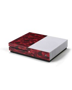 Red Street Camo Xbox One S Console Skin