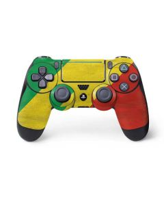 Republic of the Congo Flag Distressed PS4 Pro/Slim Controller Skin