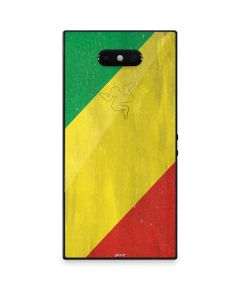 Republic of the Congo Flag Distressed Razer Phone 2 Skin