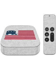 Republican American Flag Apple TV Skin